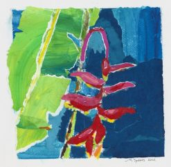 Hanging Heliconia Collage