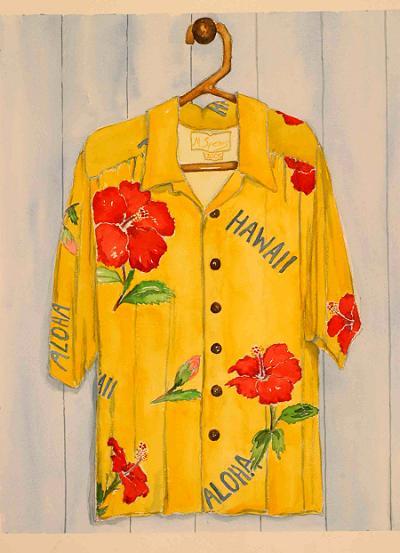 yellow-red-hibiscus-shirt