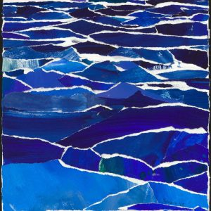 Water Surface Collage by Mary Spears