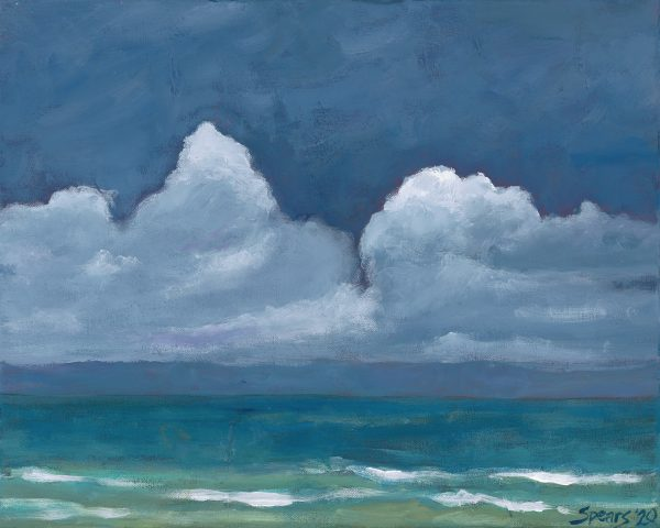 Storm Clouds by artist Mary Spears.